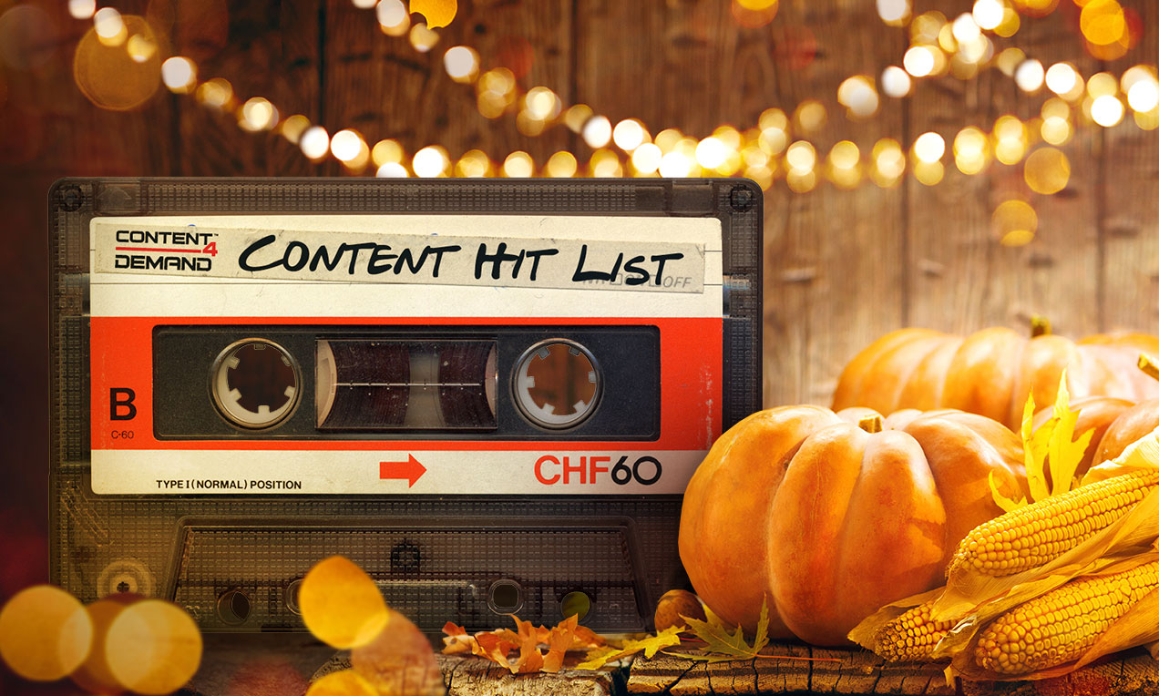 Thanksgiving Content Hit List