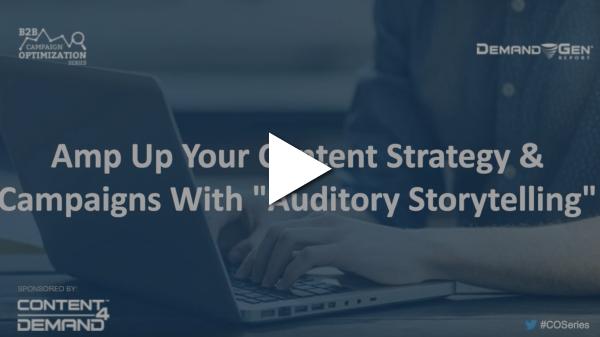 auditory storytelling webinar screenshot