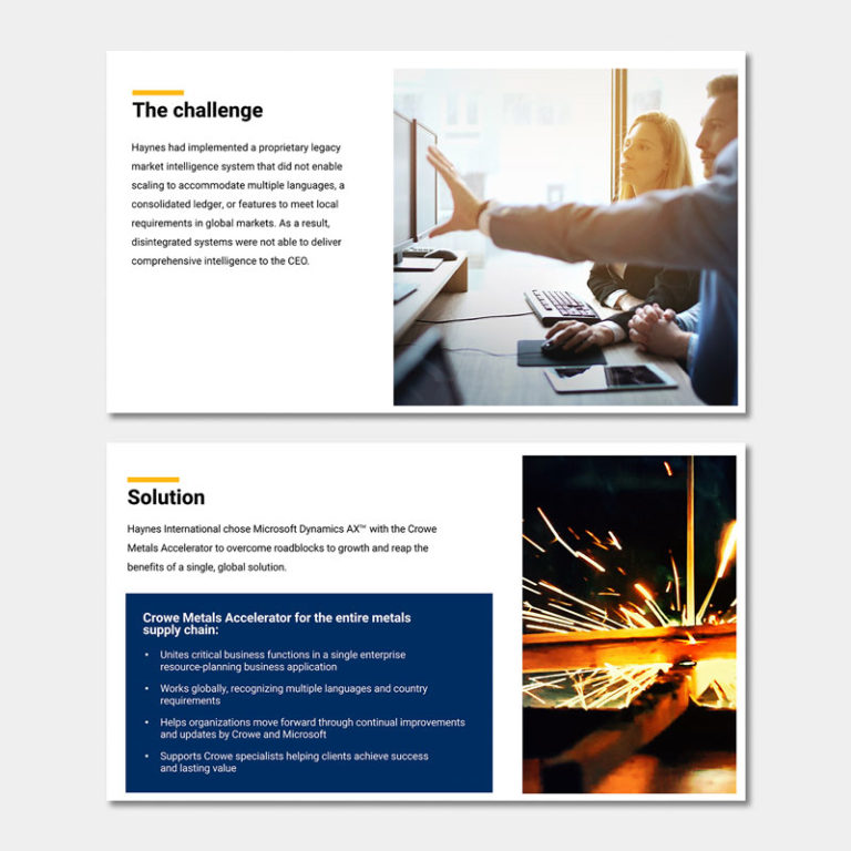 financial services - crowe