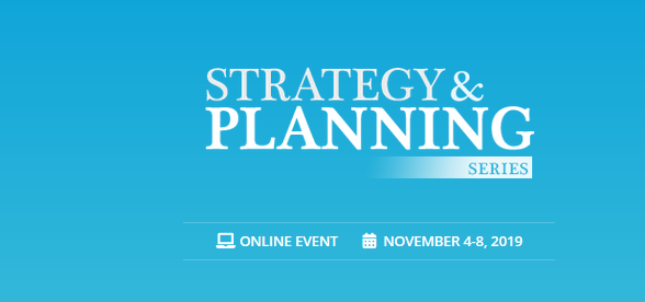 Strategy & Planning Series 2019