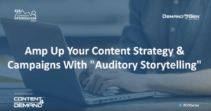 auditory storytelling webinar - resource