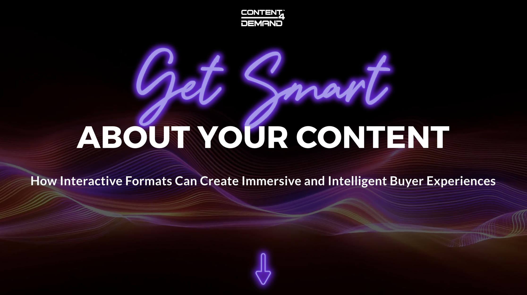 smart content asset