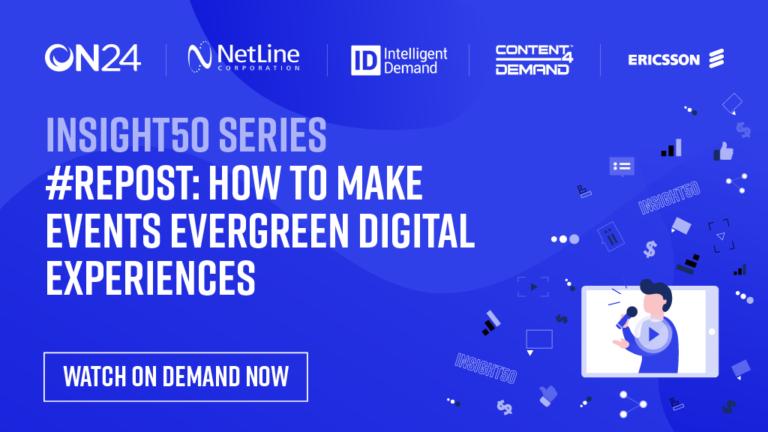 Digital Events Webinar On Demand