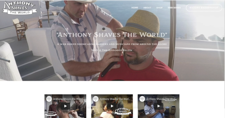 Anthony Shaves the World