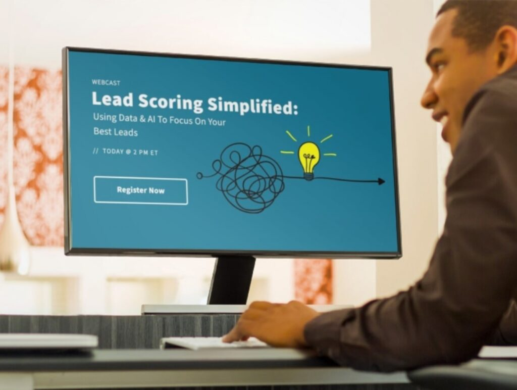 AI lead scoring