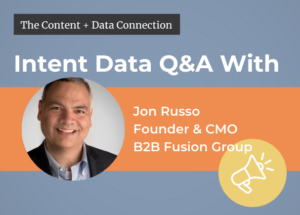Jon Russo intent data