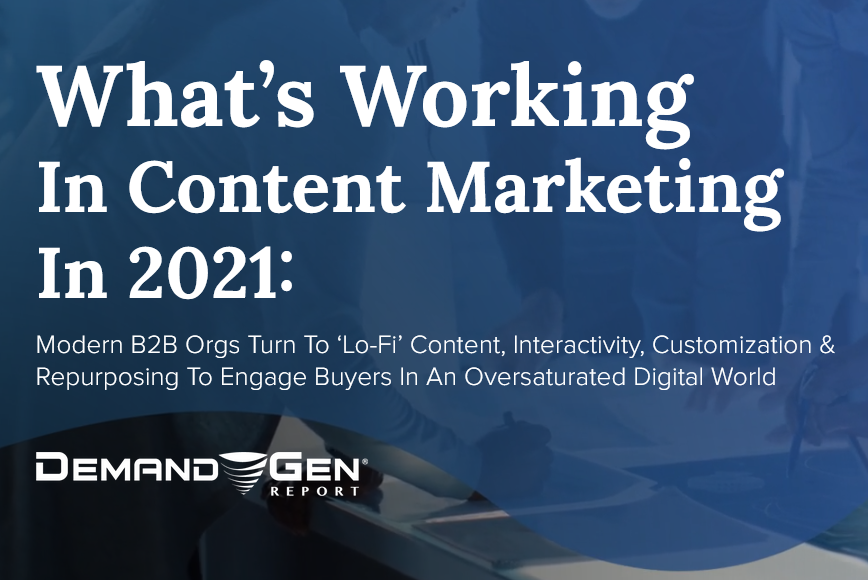 What's Working in Content