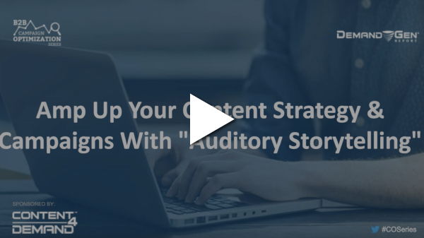 auditory storytelling webinar screenshot